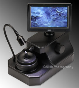 Jewelry microscope with a TV screen - © Klick Photography