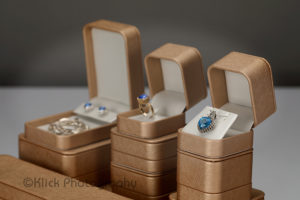 Jewelry Boxes with Jewelry © Klick Photography